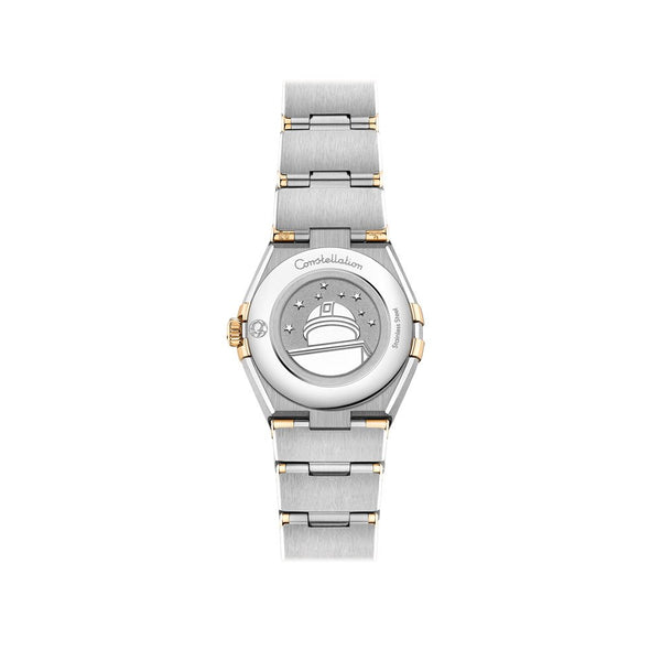Omega Constellation Manhattan Stainless Steel & 18ct Yellow Gold with Diamonds Quartz Watch 25mm 131.25.25.60.55.002