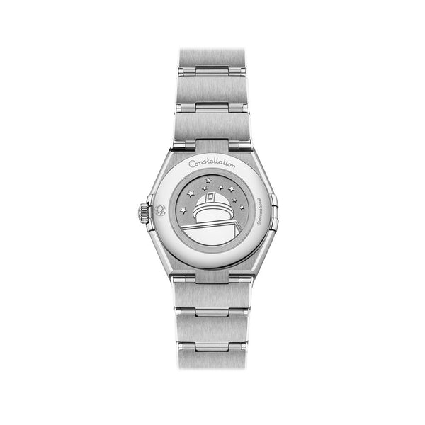 Omega Constellation Manhattan Stainless Steel with Diamonds Quartz Watch 28mm 131.10.28.60.52.001