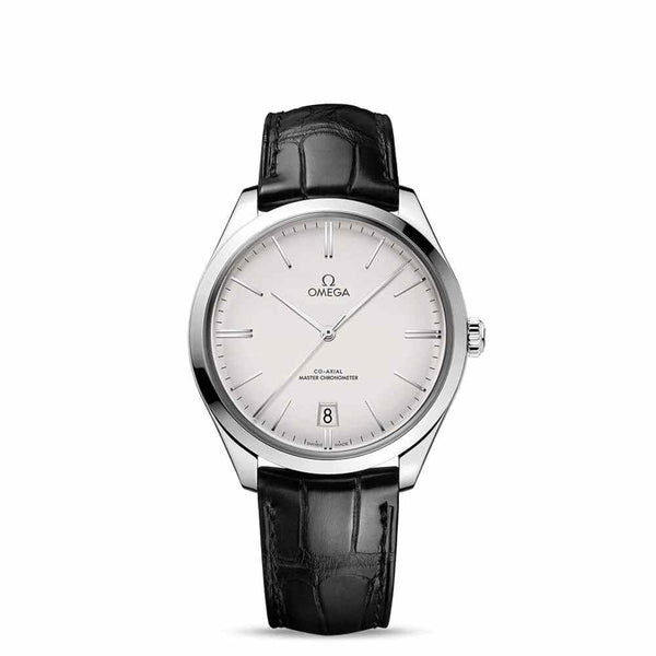 Omega De Ville Trésor Co-Axial Master Chronometer White Dial & Black Leather Strap 36mm