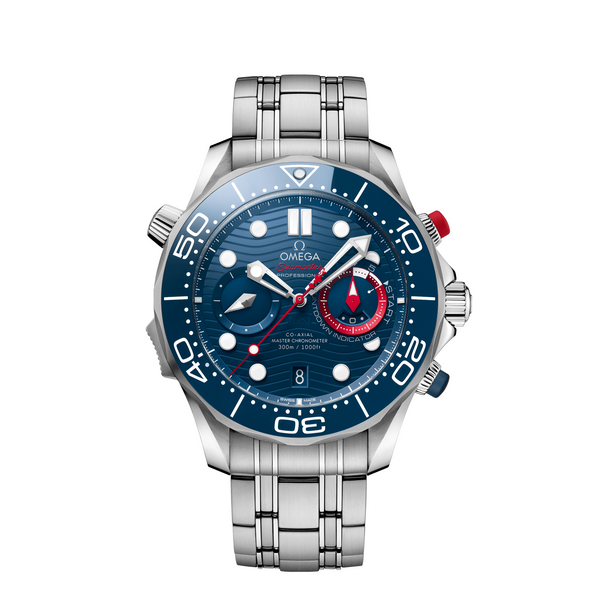 Omega Seamaster Diver 300M America's Cup Chronograph 44mm 210.30.44.51.03.002
