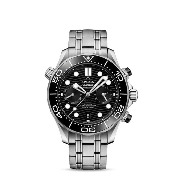 Omega Seamaster Diver 300M Co-Axil Master Chronometer Chronograph 44mm Face