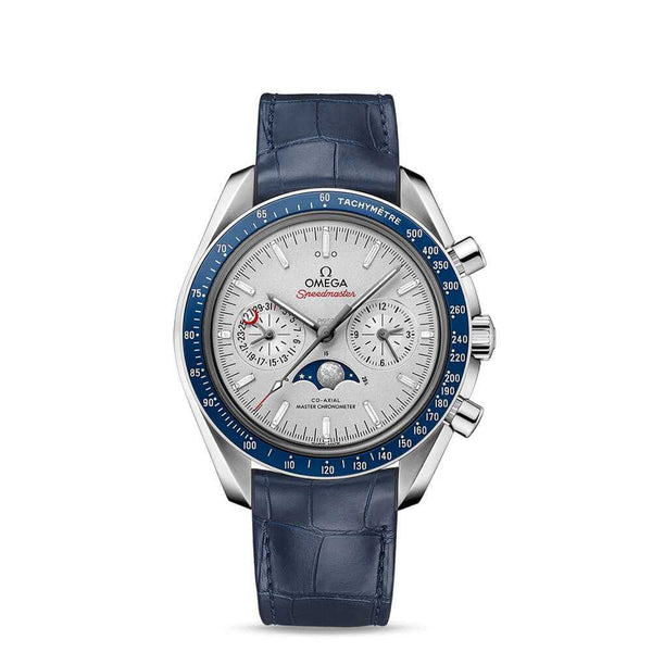 Omega Speedmaster Moonwatch Co-Axial Master Chronometer Moonphase Chronograph 44.25mm