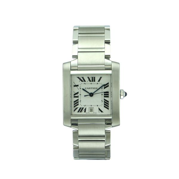 Pre-Owned Cartier Tank Francaise Mens Watch 2302