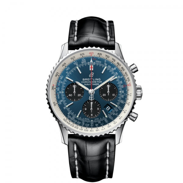 Breitling Navitimer B01 Chronograph 43 AB0121211C1P1 Face