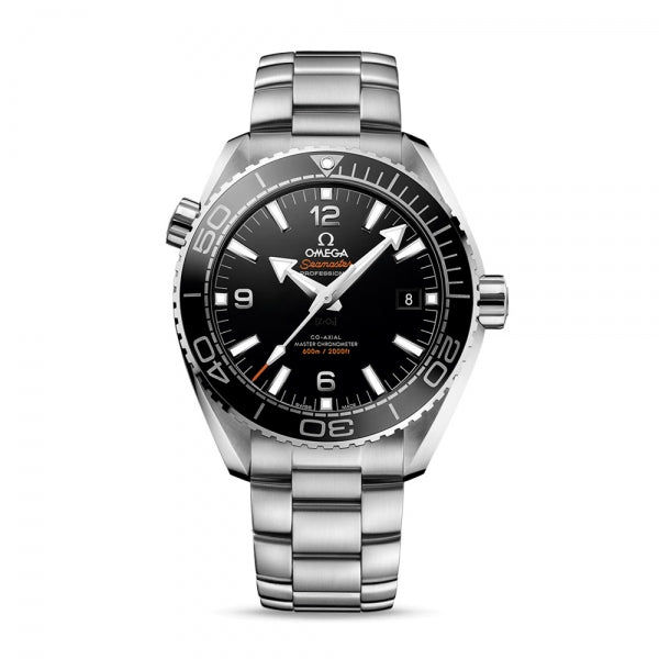 Omega Seamaster Planet Ocean 600M Co-Axial Master Chronometer Steel & Black 43.5mm