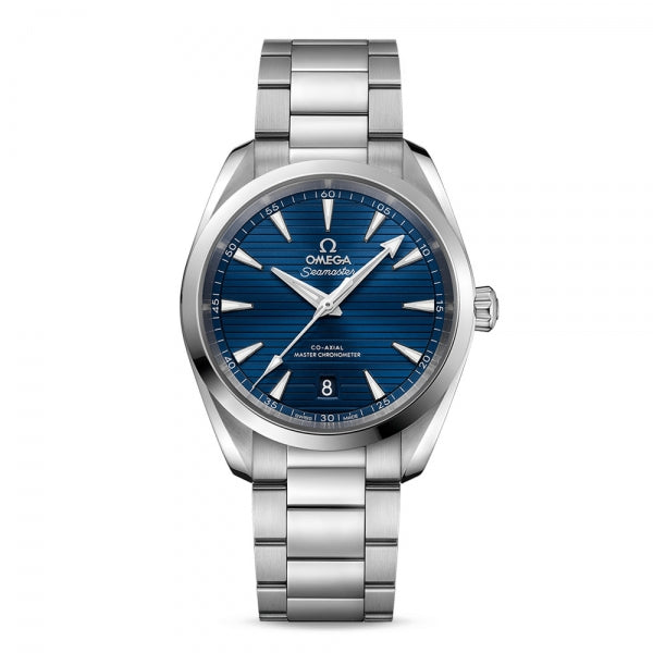 Omega Seamaster Aqua Terra 150M Co-Axial Master Chronometer Blue Dial & Steel Bracelet 38mm