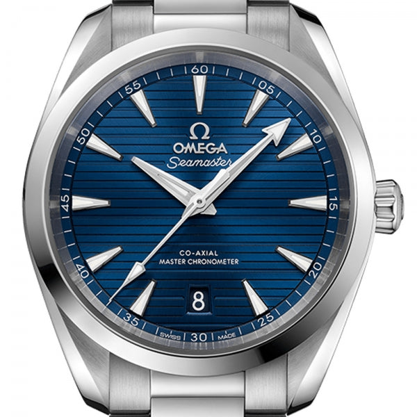 Omega Seamaster Aqua Terra 150M Co-Axial Master Chronometer Blue Dial & Steel Bracelet 38mm 220.10.38.20.03.001