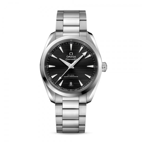 Omega Seamaster Aqua Terra 150M Co-Axial Master Chronometer Black Dial & Steel Bracelet 38mm