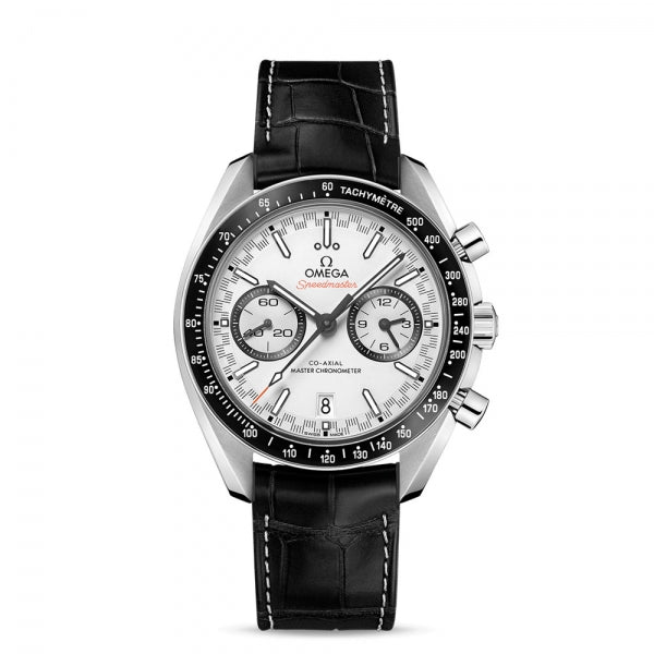 Omega Speedmaster Racing Black and White Co-Axial Master Chronometer Chronograph 44.25mm