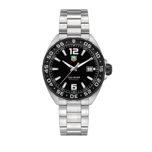 TAG Heuer Formula 1 Black Dial & Steel Bracelet 41mm