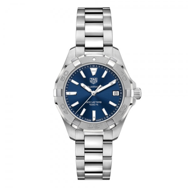 TAG Heuer Aquaracer Steel & Blue 32mm WBD1312.BA0740 Face