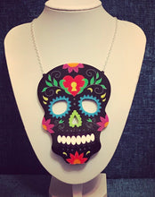 Load image into Gallery viewer, Large Statement Candy Skull - Made to order