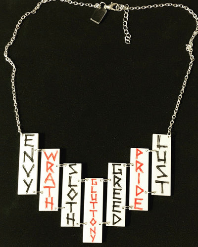 7 Deadly Sins Necklace