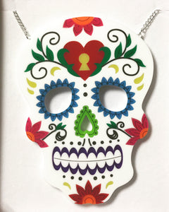 Large Statement Candy Skull - Made to order