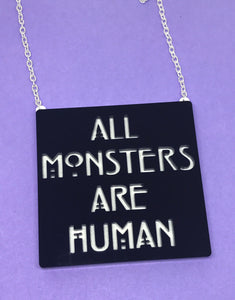 All Monsters Necklace