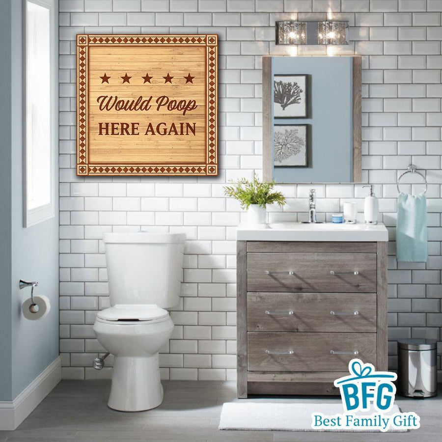 Bathroom Wall Art - Best Family Gift