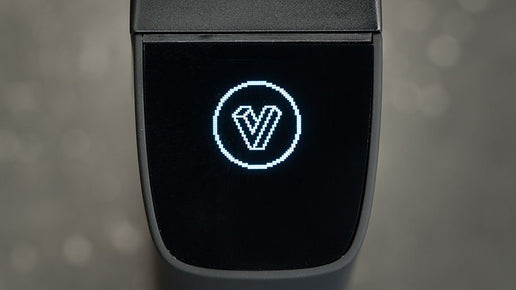Planet of the Vapes ONE Vaporizer Display with Logo