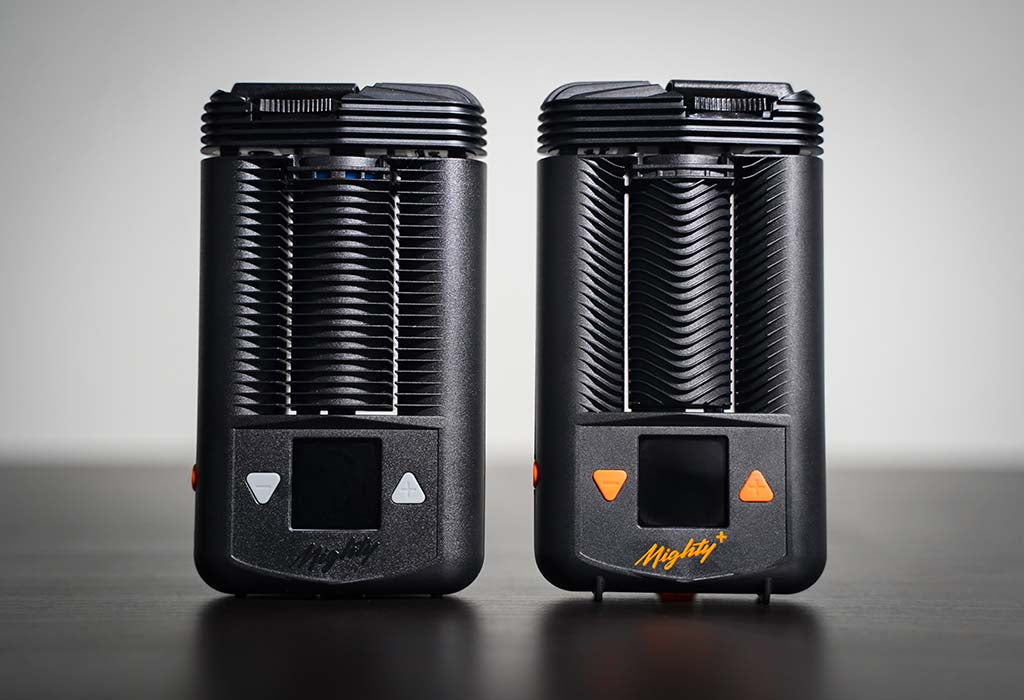 Mighty vs Mighty+ Dry Herb Vaporizer Fins Comparison