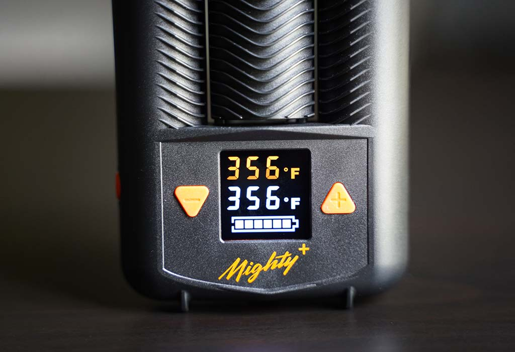 Mighty vs Mighty+ Dry Herb Vaporizer Little Feet