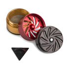 Groove 4 Piece CNC Grinder/Sifter Rasta Components