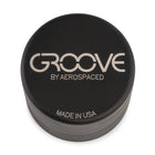 "Groove by Aerospaced 2"" 4-Piece Grinder / Sifter in Black"