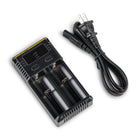 Nitecore i2 Two Battery Charger Top