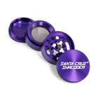 Santa Cruz Grinder 4 pc small purple