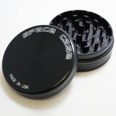 Grinder - Space Case 2 Piece Titanium Grinder Choose Small, Medium Or Large