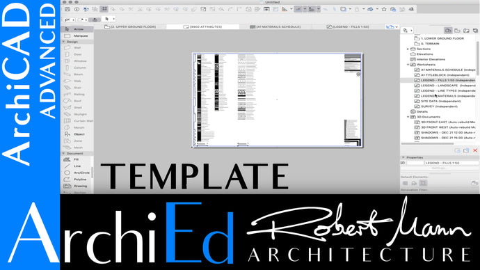 ARCHICAD 22 TEMPLATE SERIES