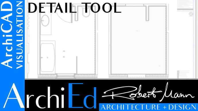 ARCHICAD DETAIL TOOL