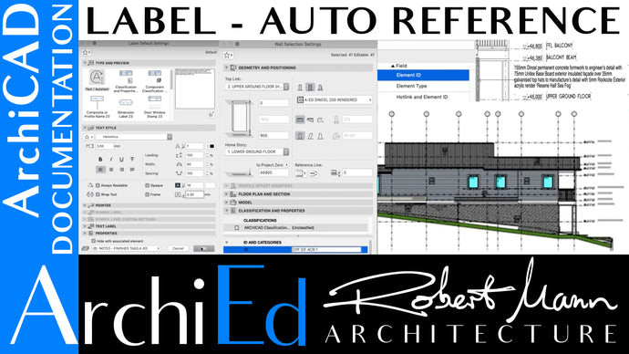 ARCHICAD LABEL TOOL