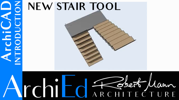 ARCHICAD 21: STAIR TOOL