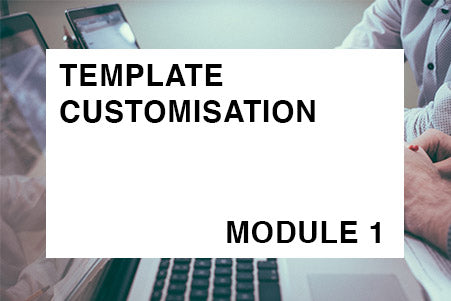 ArchiCAD Template Customisation - MODULE 1