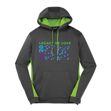 Load image into Gallery viewer, Mens - Sport-Tek® Sport-Wick® Fleece Colorblock Hooded Pullover