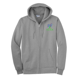 Essential Fleece Full-Zip Hooded Sweatshirt