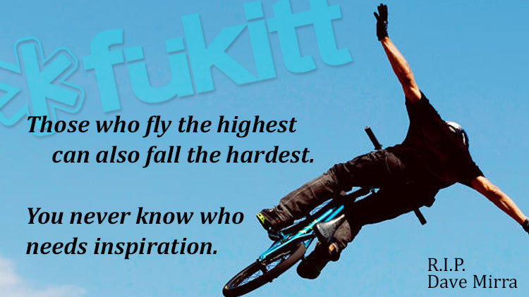 Dave Mirra Fukitt Clothing Apparel Suicide Prevention