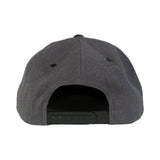 Fükitt Clothing | Square Design on Grey & Black Snapback Cap Back