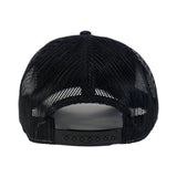 Fukitt Clothing | Traditional Black & White Retro Trucker Cap Back