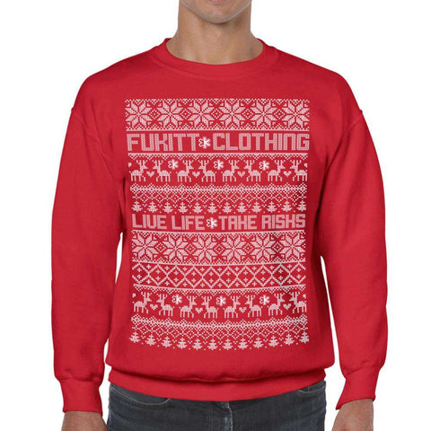 Holidaze Red Sweatshirt