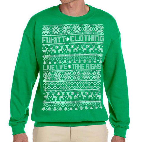 Holidaze Green Sweatshirt