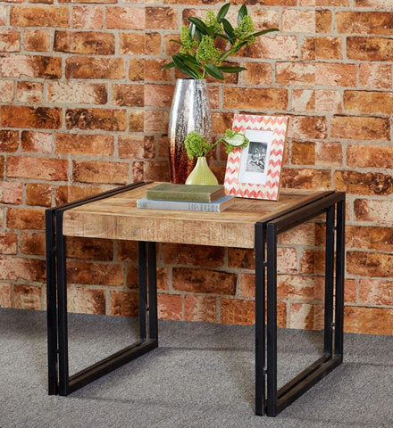 Indian Hub COSMO Industrial Style Medium Coffee Table
