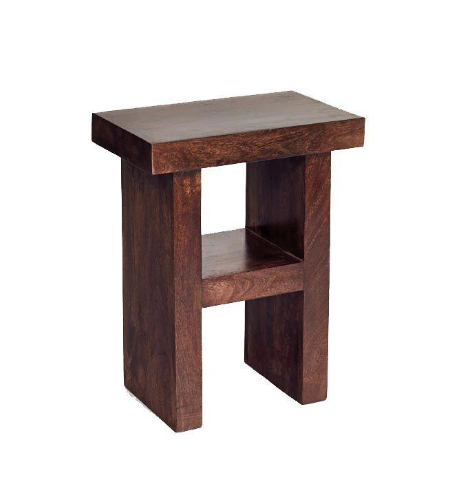 Indian Hub TOKO Mango Side Table H Shape