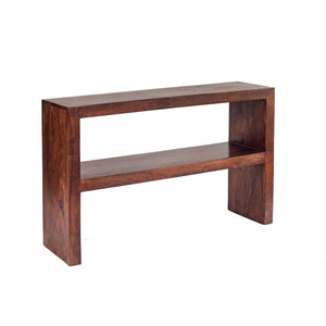 Indian Hub TOKO Mango Console Table With Shelf