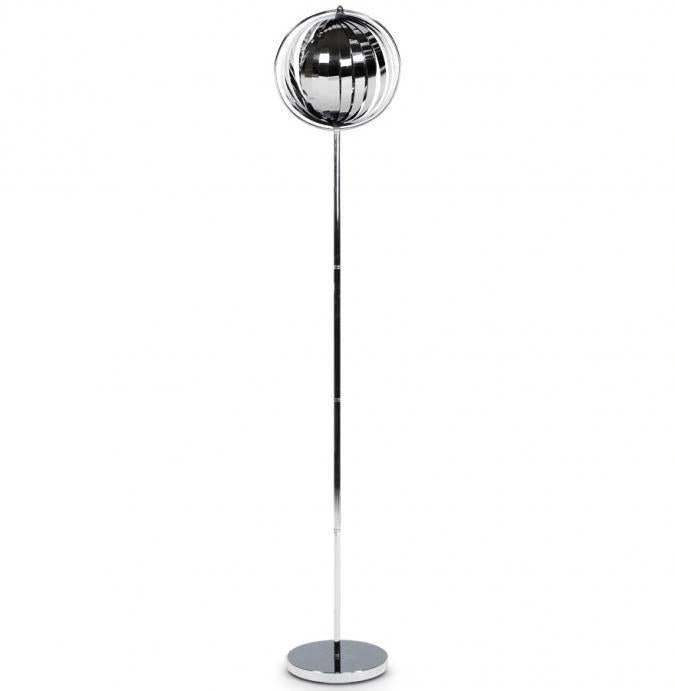 KOKOON Big Nina Floor Lamp Chrome
