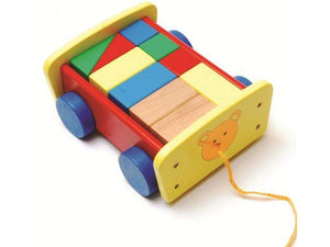 Childrens Wooden Pull Along Cart