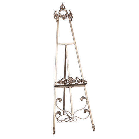 Antiqued Gold Metal Easel 165cm
