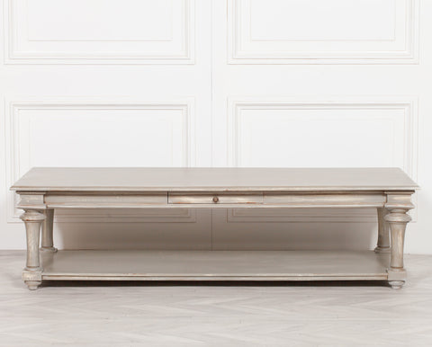 Distressed 170cm Coffee Table