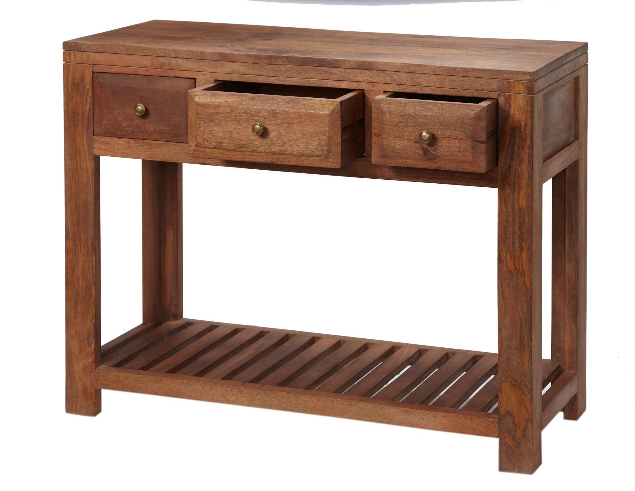 Indian Hub MANHATTAN Light Mango Console Table