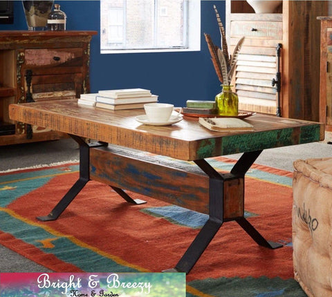 COASTAL Reclaimed Wooden Coffee Table