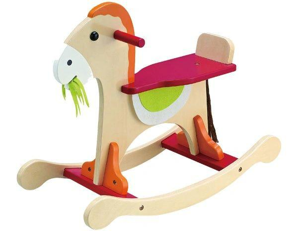 Wooden Toy Rocking Horse For Children 18+ Months